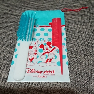 ディズニー(Disney)のスタジオアリス くし ミッキー コーム ブラシ(ヘアブラシ/クシ)