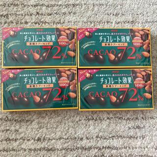 明治 - meiji 明治 チョコレート効果 素焼きアーモンド 81g×4箱