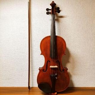 【良反響良材】ルドルフフィドラー GV-3 4/4 バイオリン 1998(ヴァイオリン)