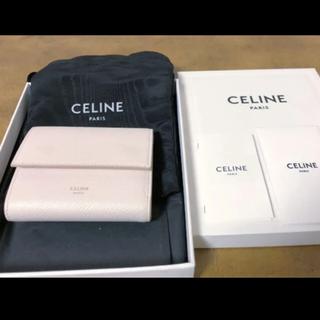 セリーヌ(celine)の美品♡セリーヌ トリフォールド ウォレット(財布)