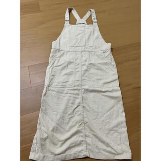 エイチアンドエム(H&M)のサロペット ジャンスカ オールインワン ワンピース サロペットスカート(サロペット/オーバーオール)