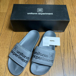 uniform experiment - uniform experiment 19ss フラグメントコラボサンダル