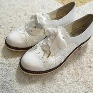 アナスイ(ANNA SUI)のほぼ未使用 レースアップシューズ(ローファー/革靴)