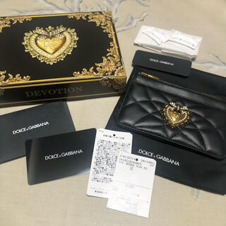 ドルチェアンドガッバーナ(DOLCE&GABBANA)のドルガバ♡デヴォーション カードホルダー(財布)