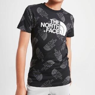 ザノースフェイス(THE NORTH FACE)のノースフェイス 海外限定 総柄Tシャツ 120cm相当(Tシャツ/カットソー)