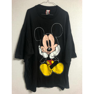 ディズニー(Disney)の【レア】90s Disney    ディズニー USA製 ミッキービッグTシャツ(Tシャツ(半袖/袖なし))