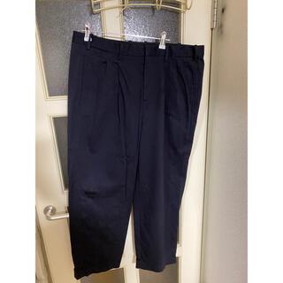 ニールバレット(NEIL BARRETT)のNEIL BARRETT ネイビー 52 スラックス パンツ メンズ高級ブランド(スラックス)