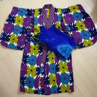 SOU・SOU - セール SOU・SOU子供浴衣 帯 セット 120〜130 ハンドメイド