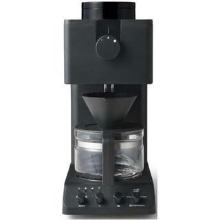 ツインバード(TWINBIRD)の新品ツインバードTWINBIRD 全自動コーヒーメーカー ブラック(コーヒーメーカー)
