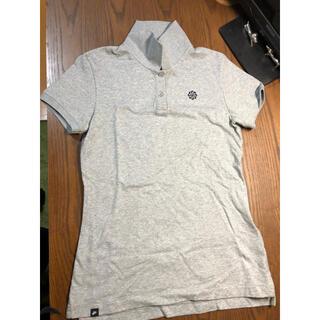 ナイキ(NIKE)のNIKE ナイキ ポロシャツ レディース M  グレー(ポロシャツ)