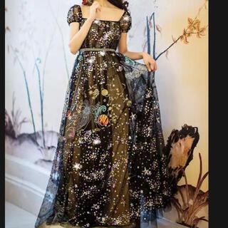 エンジェルアール(AngelR)の新品 スパンコールロングドレス(ロングドレス)