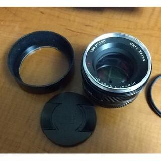 PENTAX - zeiss planar 50mm f1.4 zk