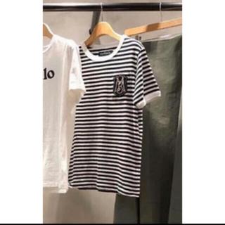マディソンブルー(MADISONBLUE)のマディソンブルー ボーダー ワッペン Tシャツ 02(Tシャツ(半袖/袖なし))