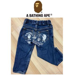 アベイシングエイプ(A BATHING APE)のアベイシングエイプ デニム パンツ 派手(パンツ/スパッツ)