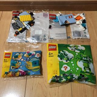 レゴ(Lego)の未開封✨LEGO レゴ 4種類 非売品(積み木/ブロック)