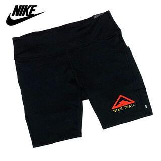 NIKE - 新品 Lサイズ ナイキトレイル レディース ランニング ショート ハーフ パンツ