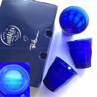 Ron Herman - 新品✨ロンハーマン デュラレックス 別注 ガラス サファイア ブルー 6個セット