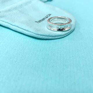 ティファニー(Tiffany & Co.)のTiffany & Co. 1837 ナローリング 指輪 18号 シルバー(リング(指輪))