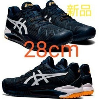 asics - 定価15950円 28cm アシックス テニスシューズ ゲルレゾリューション