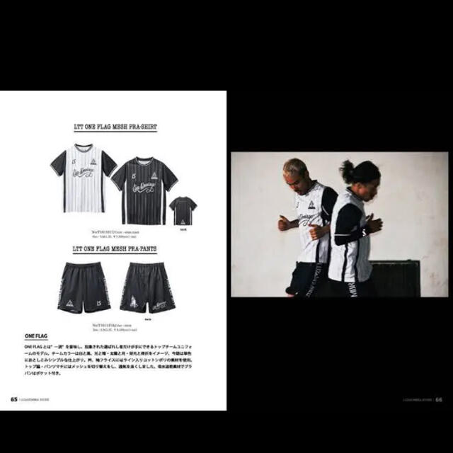 LUZ(ルース)の激レア!!LTT ONE FLAG uniform SET スポーツ/アウトドアのサッカー/フットサル(ウェア)の商品写真