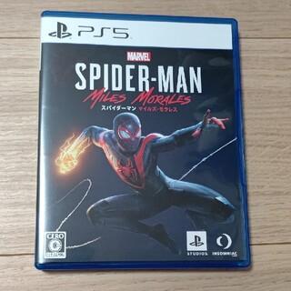 ソニー(SONY)のPS5 スパイダーマン:マイルズ・モラレス(家庭用ゲームソフト)