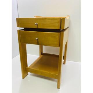 カリモク 家具 ナイトテーブル ベッドサイドテーブル(コーヒーテーブル/サイドテーブル)