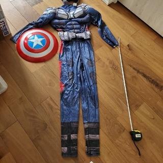 マーベル(MARVEL)のCaptain America キャプテンアメリカ キッズ 子供コスプレ 仮装(衣装一式)