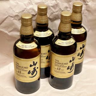 サントリー(サントリー)の【送料込】サントリー 山崎12年【4本セット】(ウイスキー)