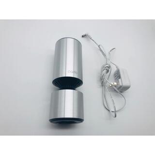 バルミューダ(BALMUDA)の空気清浄機 cado カドー MP-C10 車内清浄機 アルミニウム シルバー(空気清浄器)