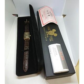 アルバ(ALBA)の未使用【アルバ】ディズニー35周年腕時計 スモセコ ベルト難あり 電池切れ(腕時計(アナログ))