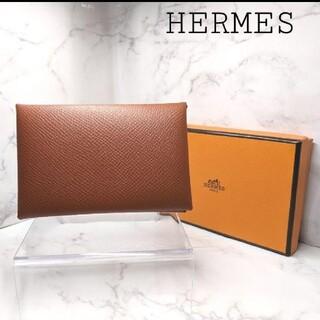 Hermes - ✨新品未使用品✨ HERMES エルメス カルヴィ カードケース エプソン 王道