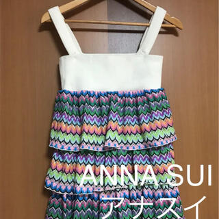 DOLLY GIRL BY ANNA SUI - ANNA SUI(アナスイ) サマーカラフルニットトップス
