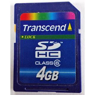 トランセンド(Transcend)のUSED トランセンド 4GB SDHCメモリーはいかがですか?(PC周辺機器)