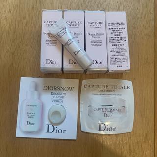 ディオール(Dior)のカプチュールトータルセルENGYスーパーセラム 試供品×4(美容液)