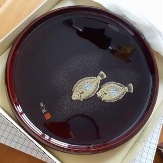 お盆 魚拓(テーブル用品)