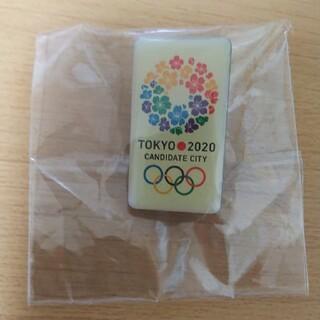 ギャラクシー(Galaxy)の東京オリンピック五輪 招致エンブレム ピンバッジ 未使用 未開封(バッジ/ピンバッジ)