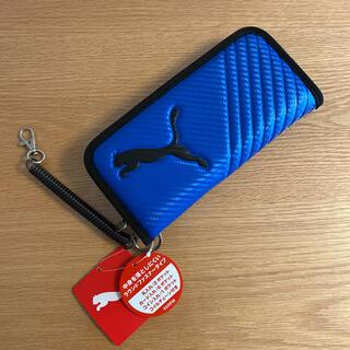 プーマ(PUMA)のPUMA 財布 ロングウォレット ブルー(財布)