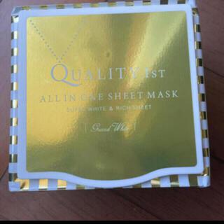 クオリティファースト(QUALITY FIRST)の☆グランドホワイト クオリティファースト マスク(パック/フェイスマスク)
