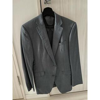 セレクト(SELECT)の美品 スーツセレクト グレー ストライプ 上下 スーツ Y5 170(セットアップ)