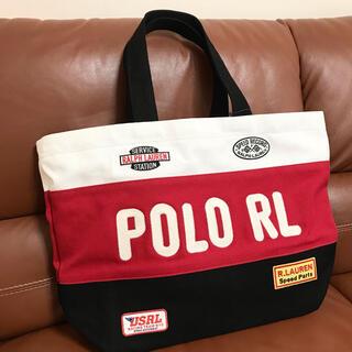 ポロラルフローレン(POLO RALPH LAUREN)の新品未使用! ラルフローレン ビッグ トートバッグ レーシング(トートバッグ)