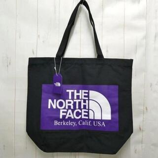THE NORTH FACE - ノースフェイス パープルレーベル ロゴトートバッグ 黒