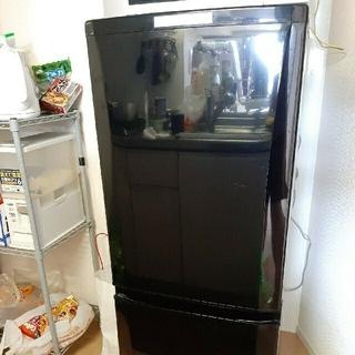 ミツビシ(三菱)のMITSUBISHI MR-P15Y-B 三菱 冷蔵庫(冷蔵庫)