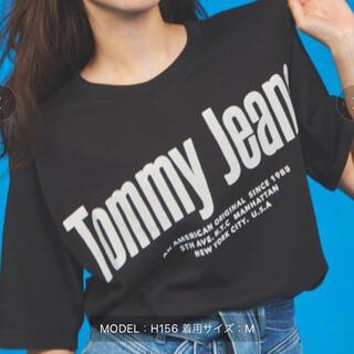 トミー(TOMMY)のロゴビッグシェルエットTシャツ(Tシャツ(半袖/袖なし))