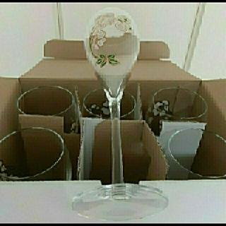 モエエシャンドン(MOËT & CHANDON)のベルエポック グラス シャンパングラス 180ml 非売品 新品未使用 6脚 (グラス/カップ)