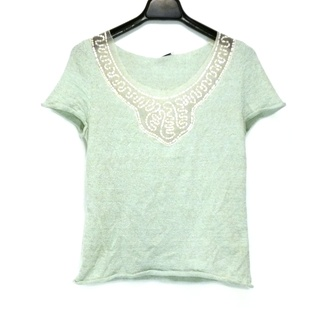 アンナモリナーリ(ANNA MOLINARI)のアンナモリナーリ 七分袖セーター -(ニット/セーター)
