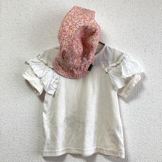 クレードスコープ(kladskap)の女の子半袖110 帽子セット(帽子)