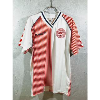 ヒュンメル(hummel)のデンマーク代表 86メキシコW杯 アウェイ ユニフォーム(ウェア)