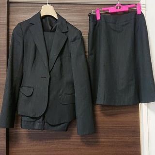アオヤマ(青山)のグレースーツ 3点セット スカートパンツジャケット(スーツ)