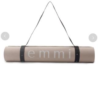 エミアトリエ(emmi atelier)のemmi ヨガマット ベージュ(ヨガ)