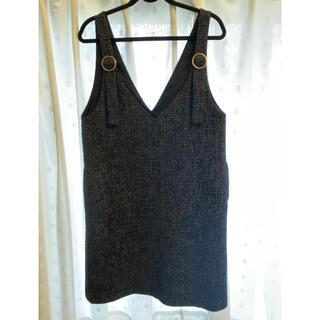 クチュールブローチ(Couture Brooch)のジャンパースカート(ひざ丈ワンピース)
